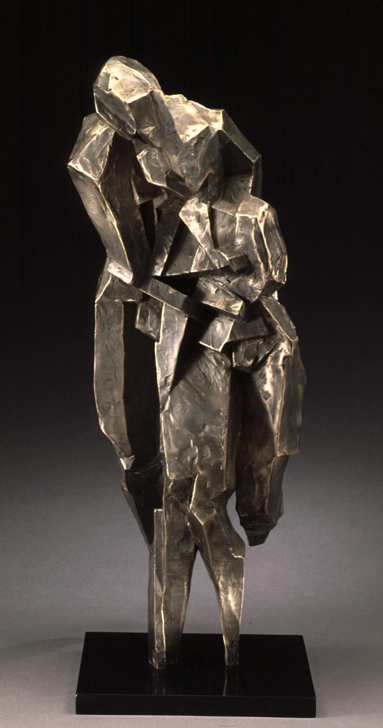 """Rapture  bronze  24"""" x 9"""" x 16"""""""