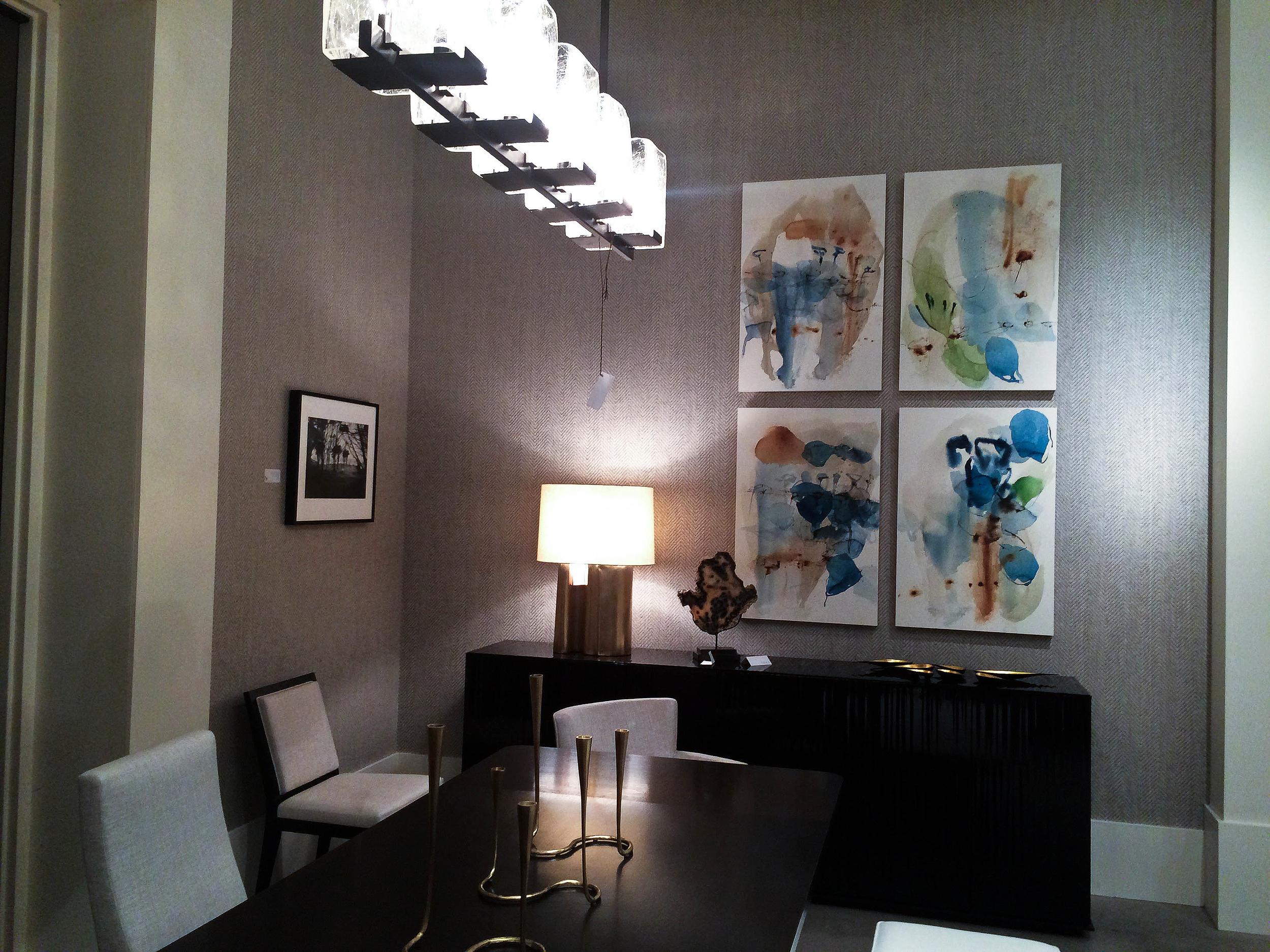 TOWN Studio. Design: Mikhail Dantes. Photography: Abbey Arlt. Artists: Anne Arden McDonald (left), Ana Zanic (right).