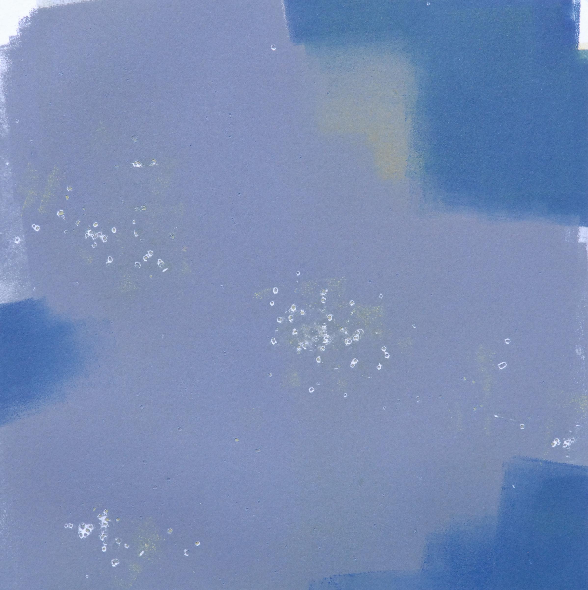 "Sodium Deviation 14, 2016  monoprint  10"" x 10"" image on 11"" x 14"" paper"