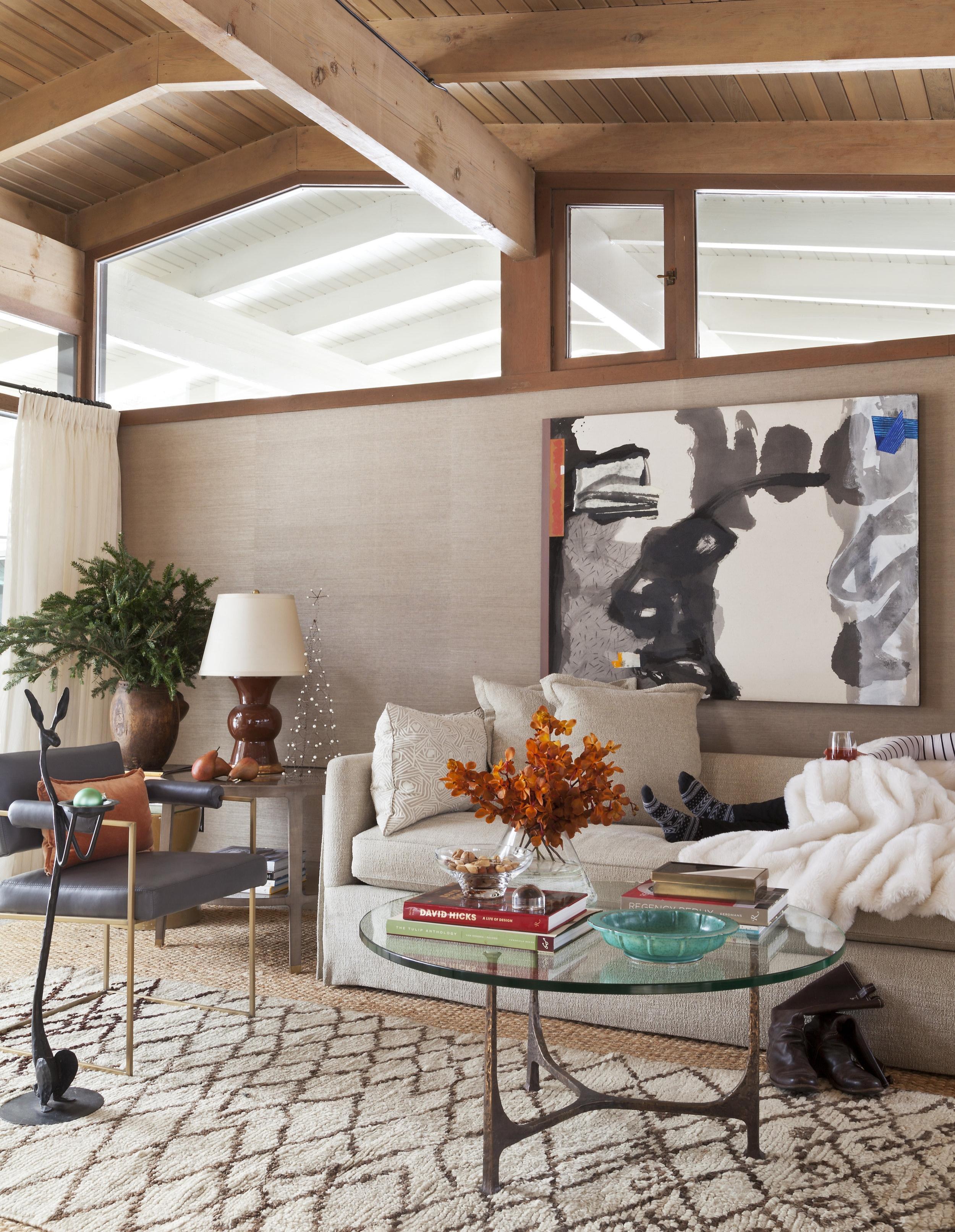 Private Residence. Design: C + A Interiors .Photographer: Emily MInton Redfield. Artist: Ben Strawn.