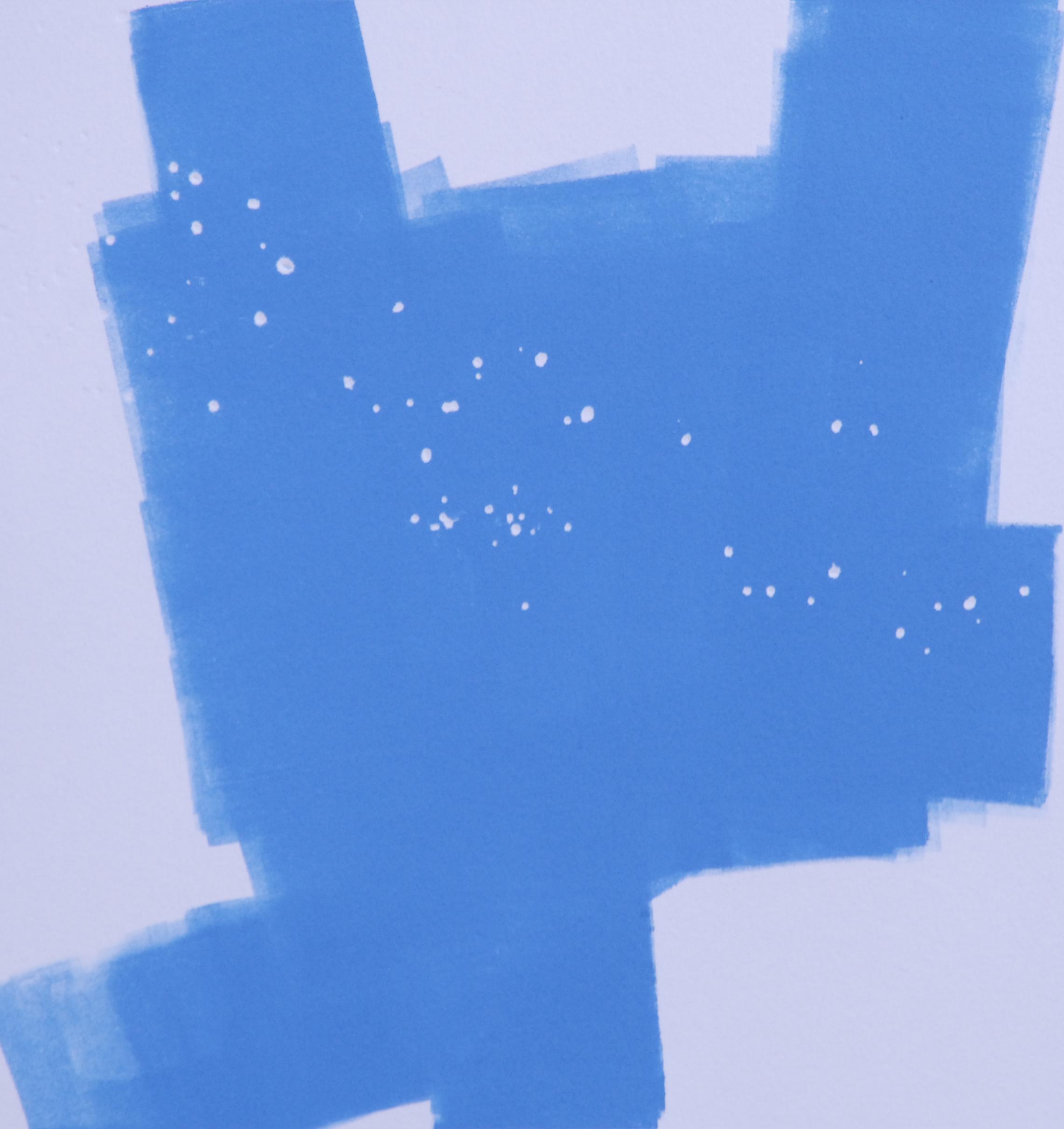 "Sodium Deviation 15, 2016  monoprint  10"" x 10"" image on 11"" x 14"" paper"