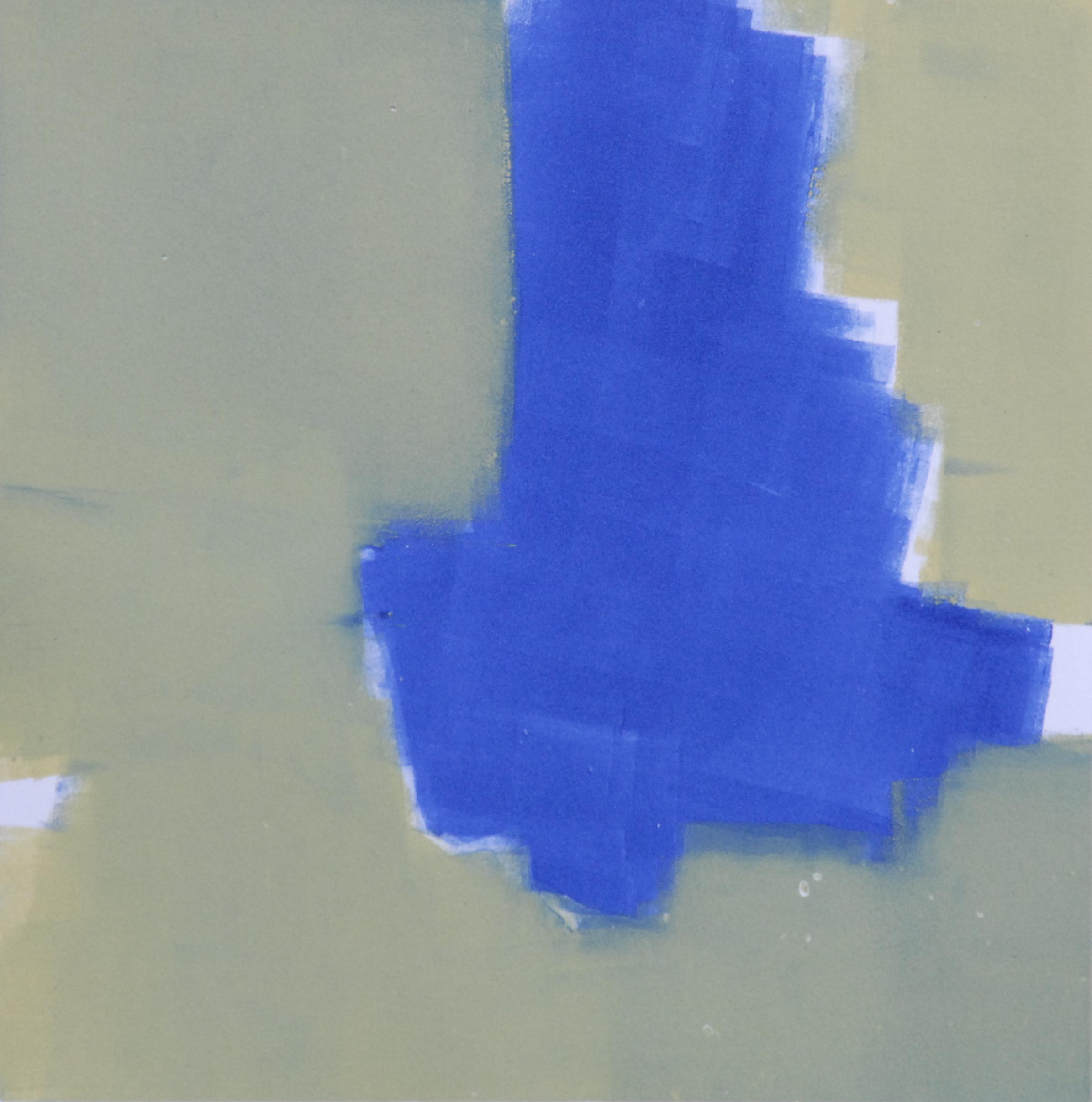 "Sodium Deviation 16, 2016  monoprint  10"" x 10"" image on 11"" x 14"" paper"