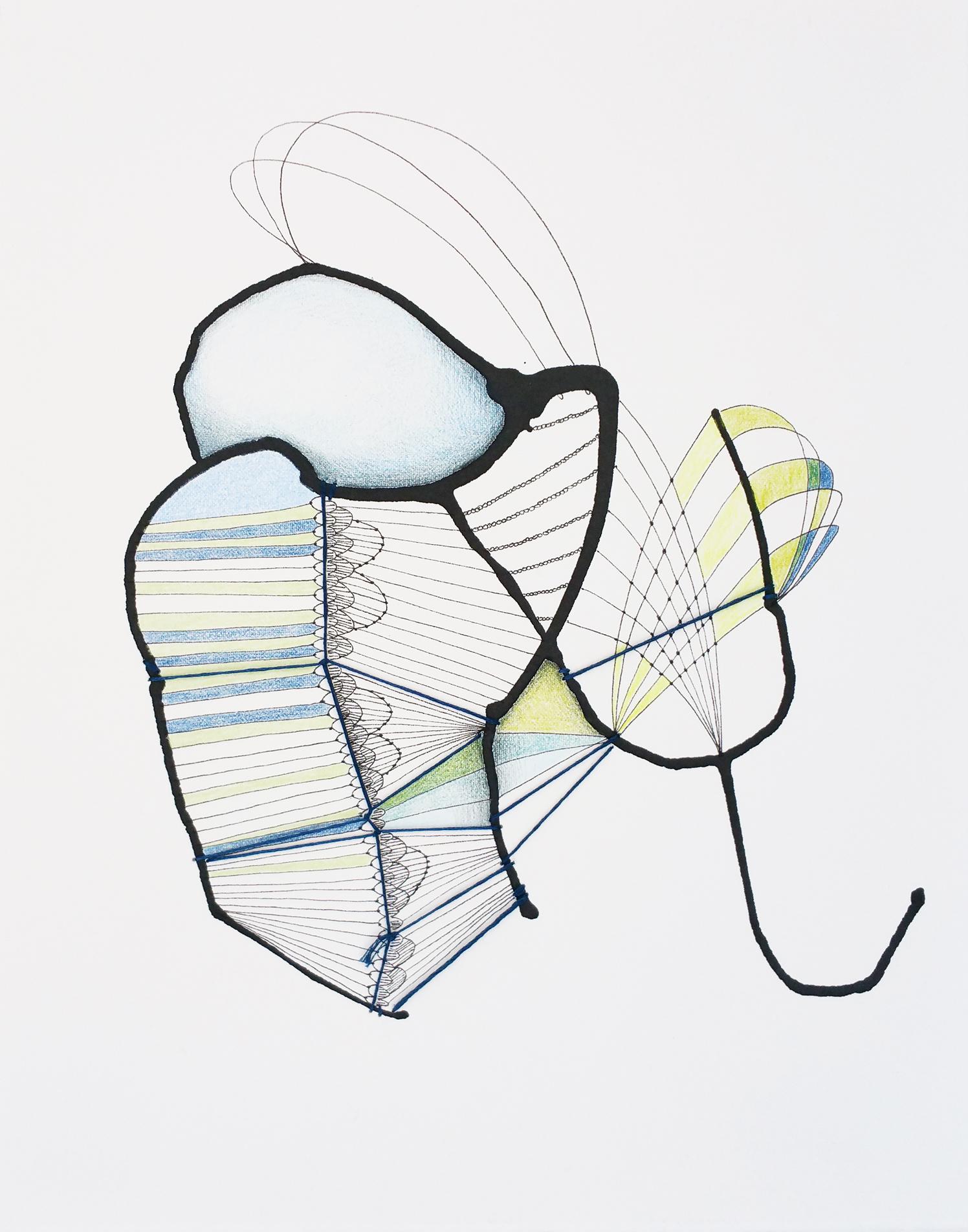 Topiaries- Work on Paper