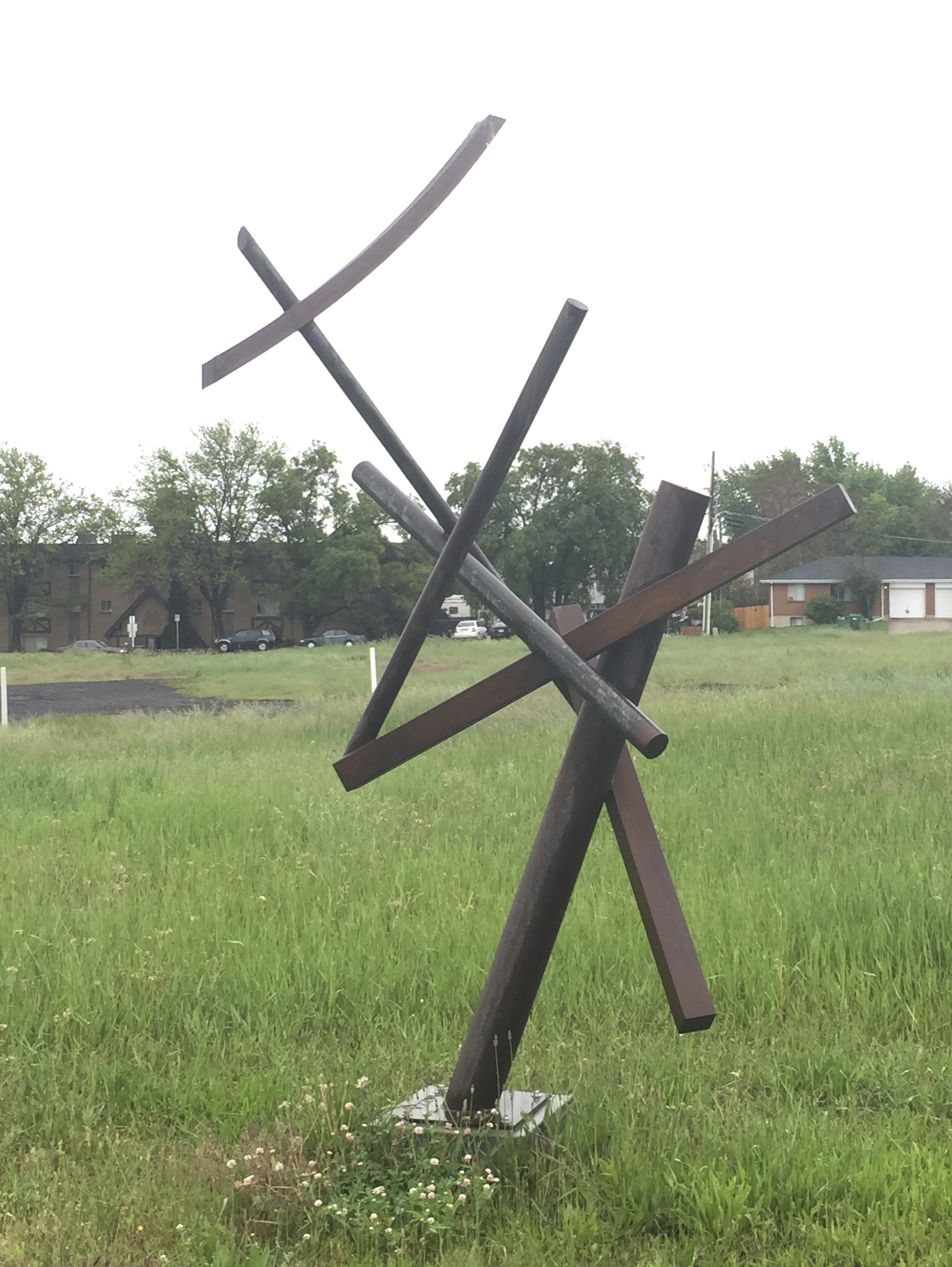 Spica  rusted steel  11' x 7' x 5'