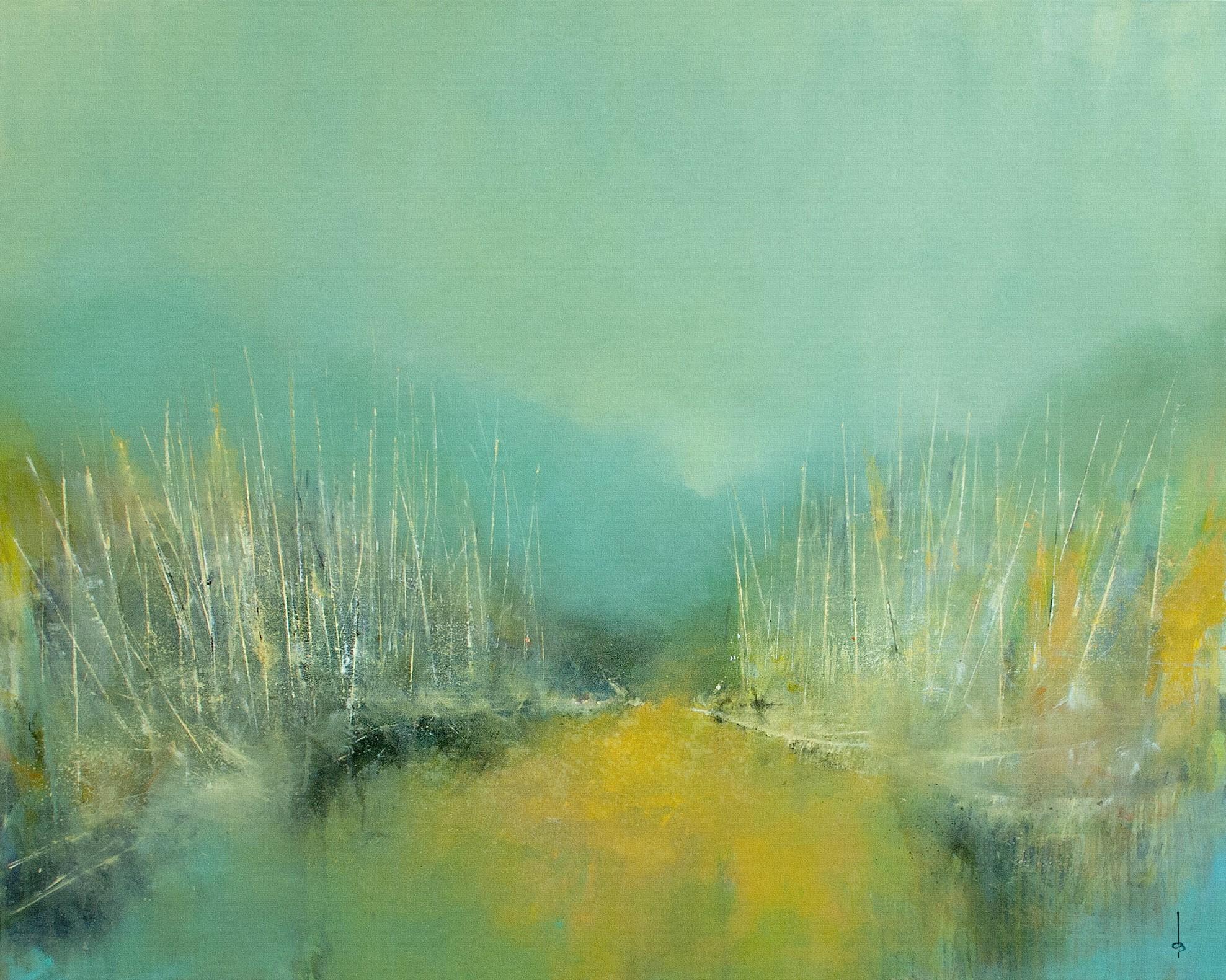 Derrick Breidenthal  Covered  oil on canvas  48x60