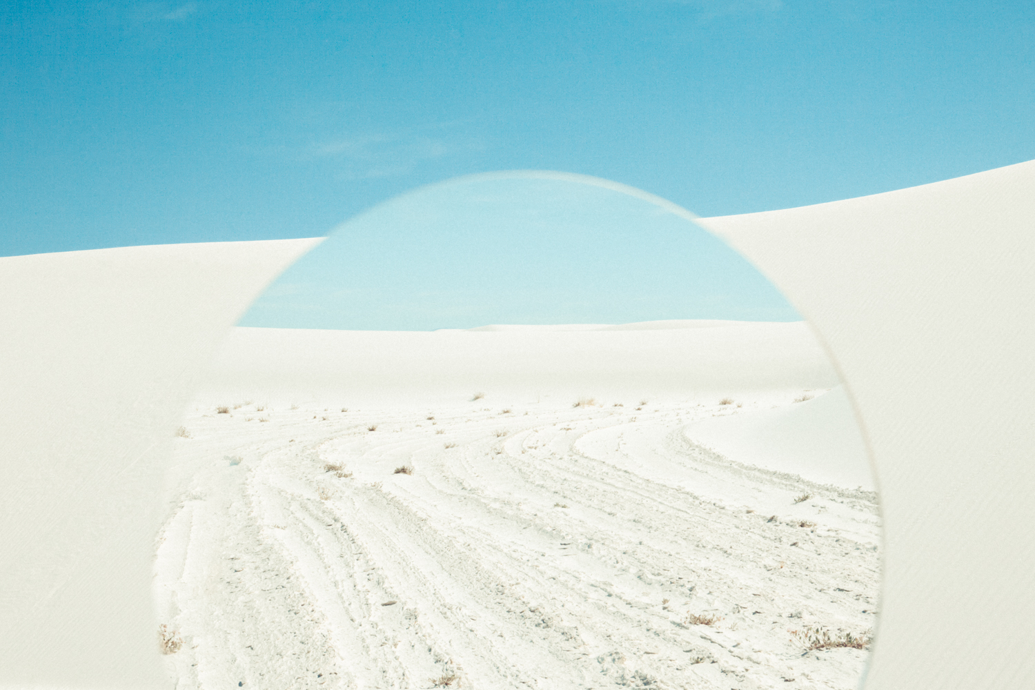 White Sands- The Path