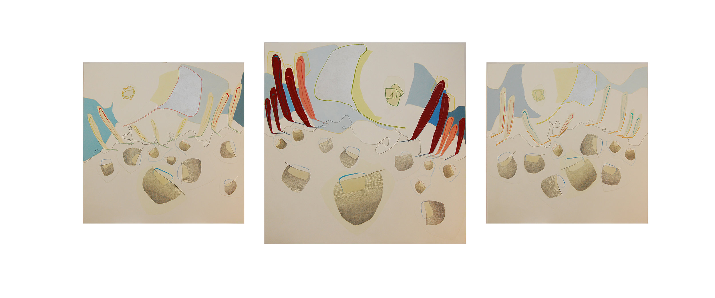 Entrusted to Wales Triptych