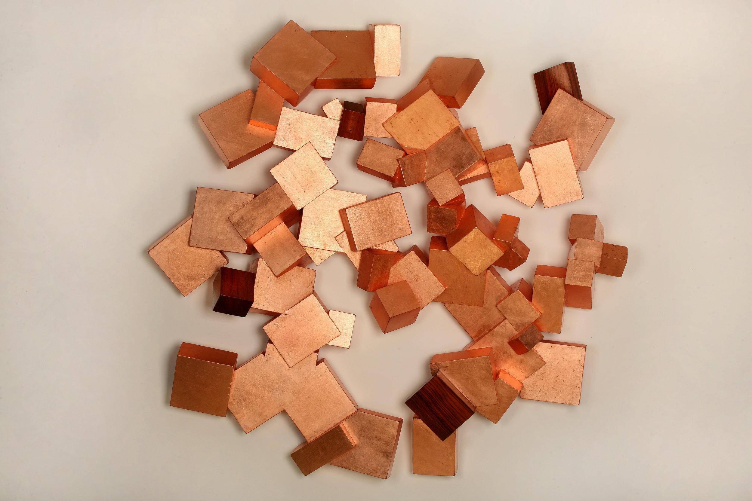 Copper and Boire Pyrite