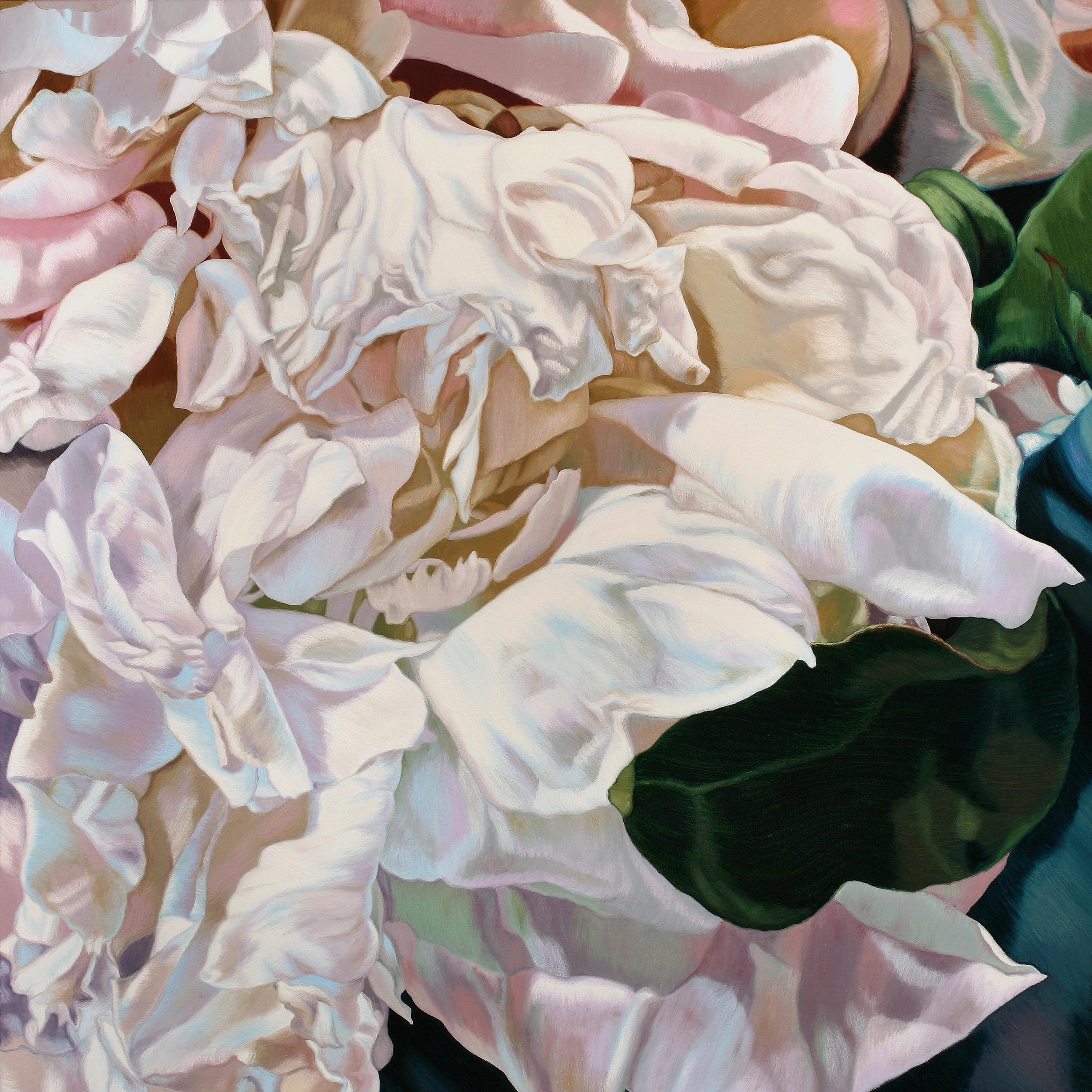 Cherdi Kala 4  48x48  oil on canvas