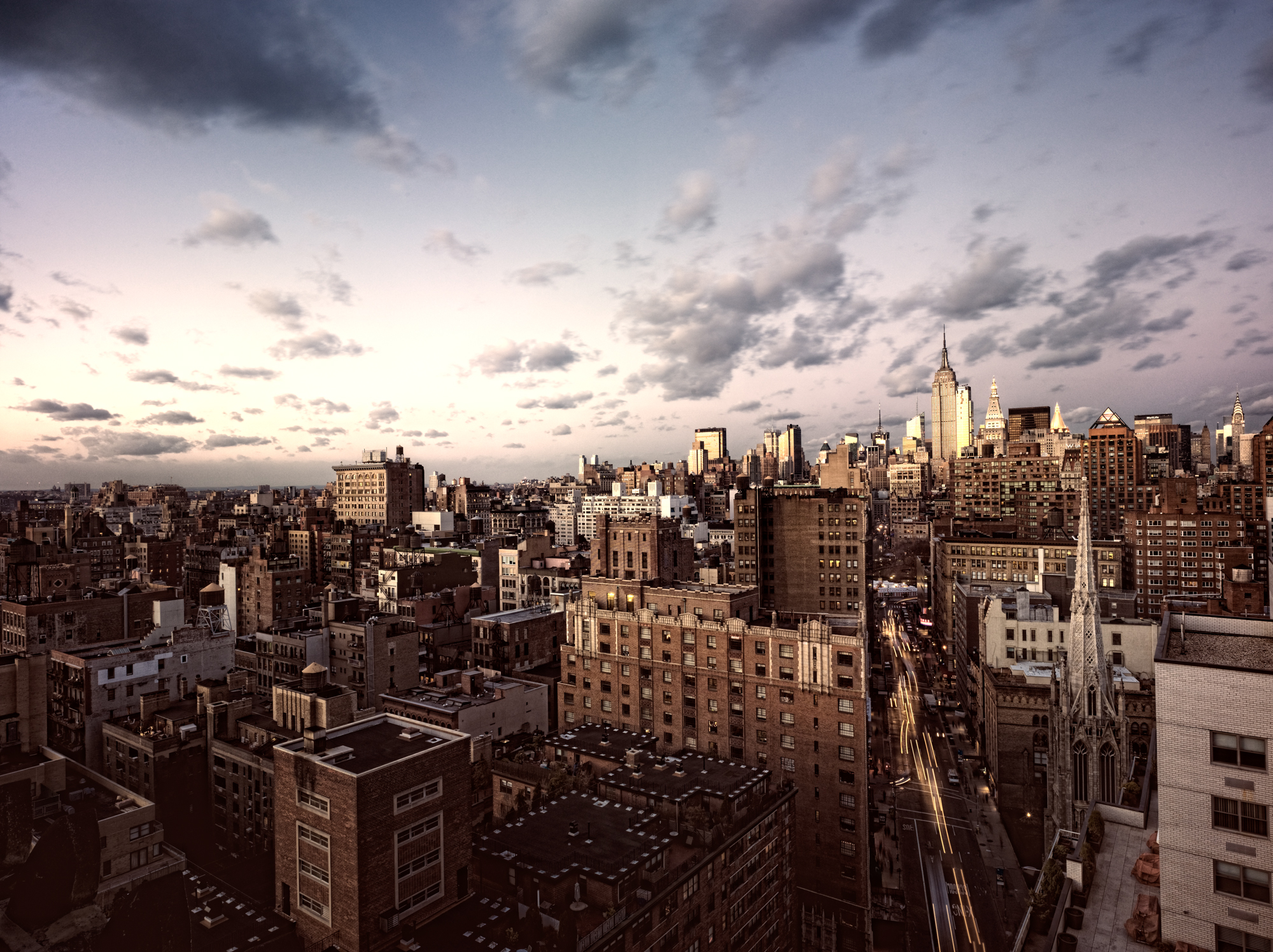 KARSTEN STAIGER    NEW YORK LOVE STORY   Title:      DECEMBER 12,2009         Edition of 5   44 x 32 inches  Kodak Metallic with white ArtBox        $3,500.00