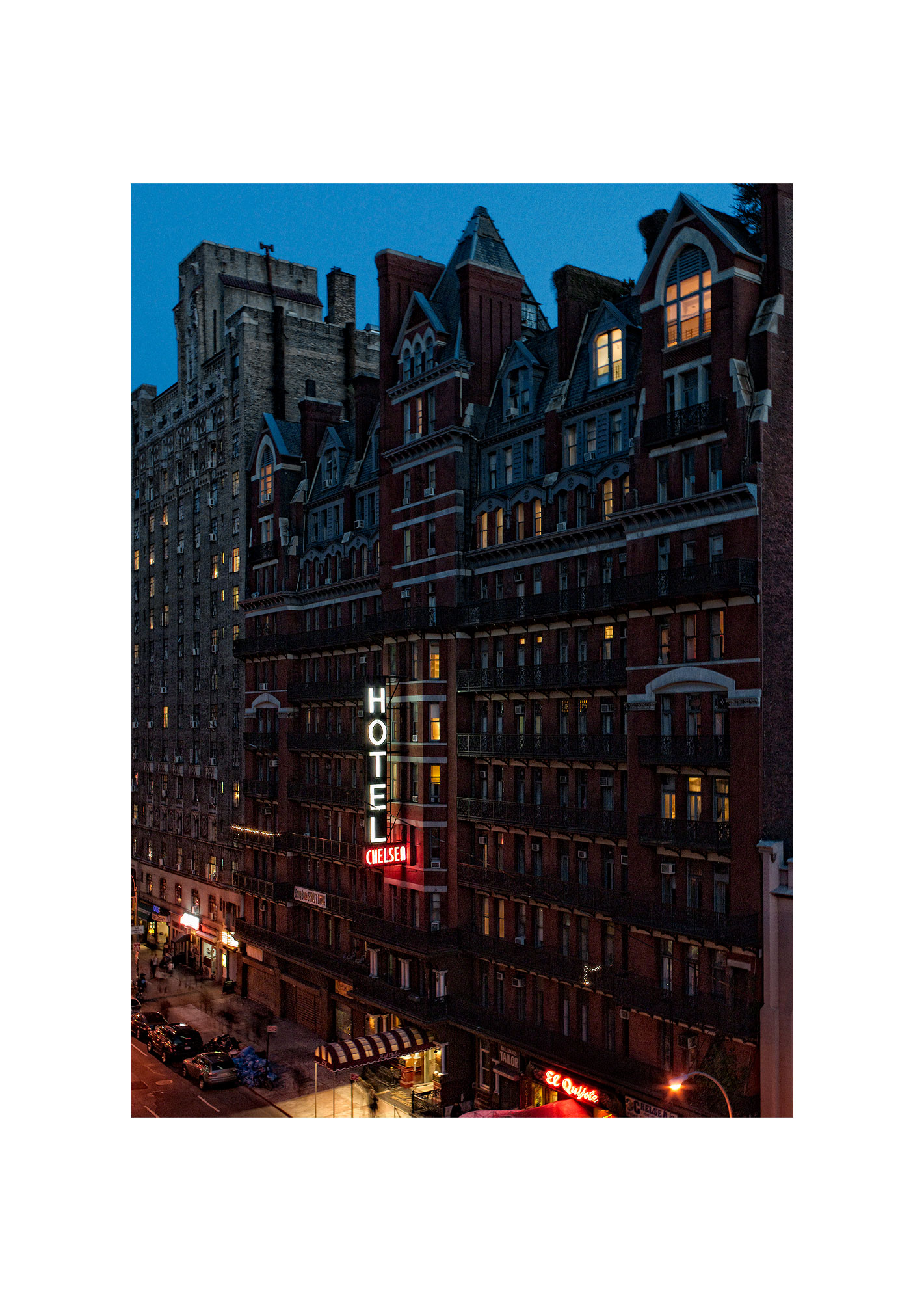 KARSTEN STAIGER    NEW YORK LOVE STORY   Title:      APRIL 23, 2009         Edition of 5   44 x 32 inches  Kodak Metallic with white ArtBox        $3,500.00