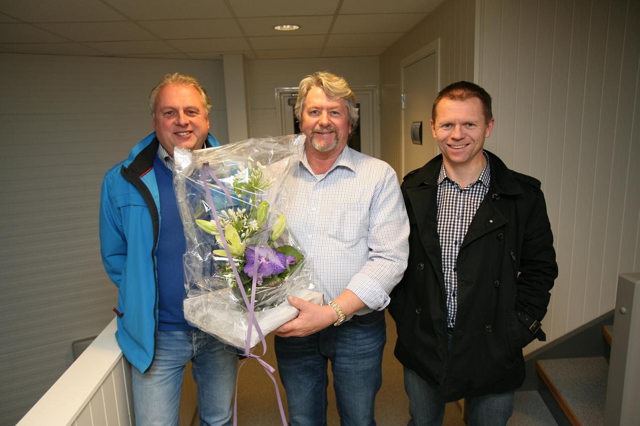 Jim Grøndahl starta opp Kjøttmakeren på Håbakken i fjor.