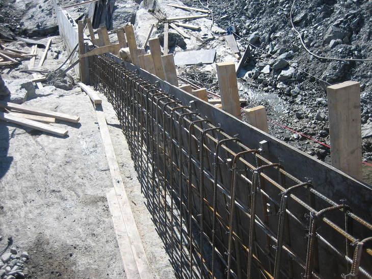 Lærdal har mange sysselsette innan bygg og anlegg.