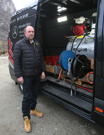 Selskapet skal ha 24-timars service-bil. Foto: Odd Helge Brugrand
