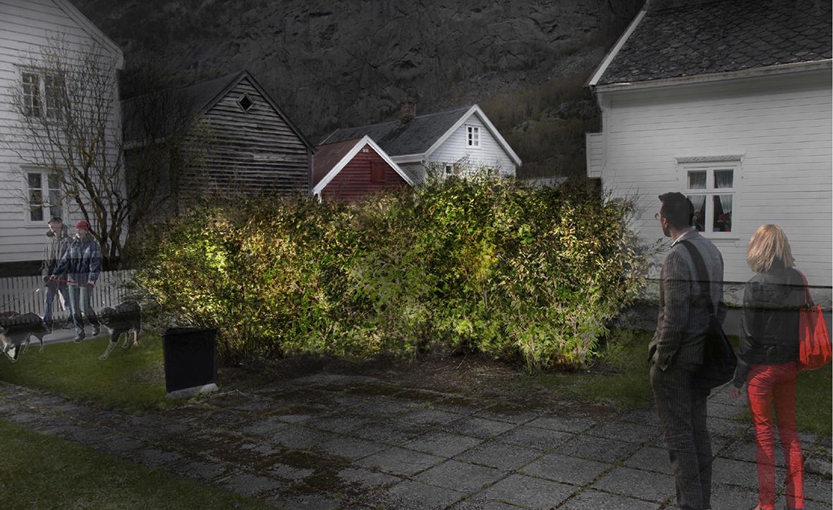 Park, gamle Lærdalsøyri