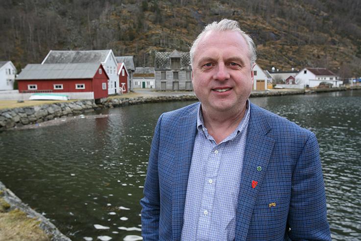 Ordførar Jan Geir Solheim.