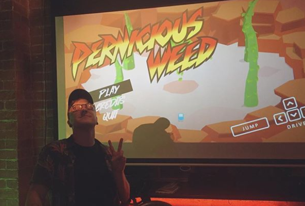 Pernicious weed game launch, the garage project - wellington nz - 2019