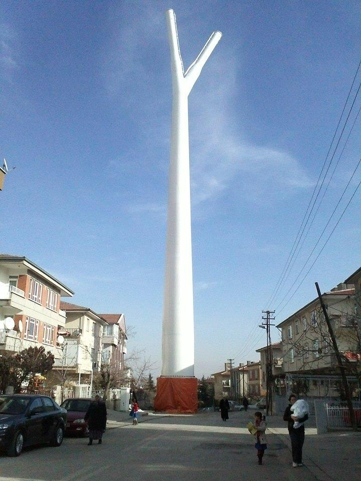 Ankara'da toplu taşımaya alternatif proje: Kentsel Sapan.