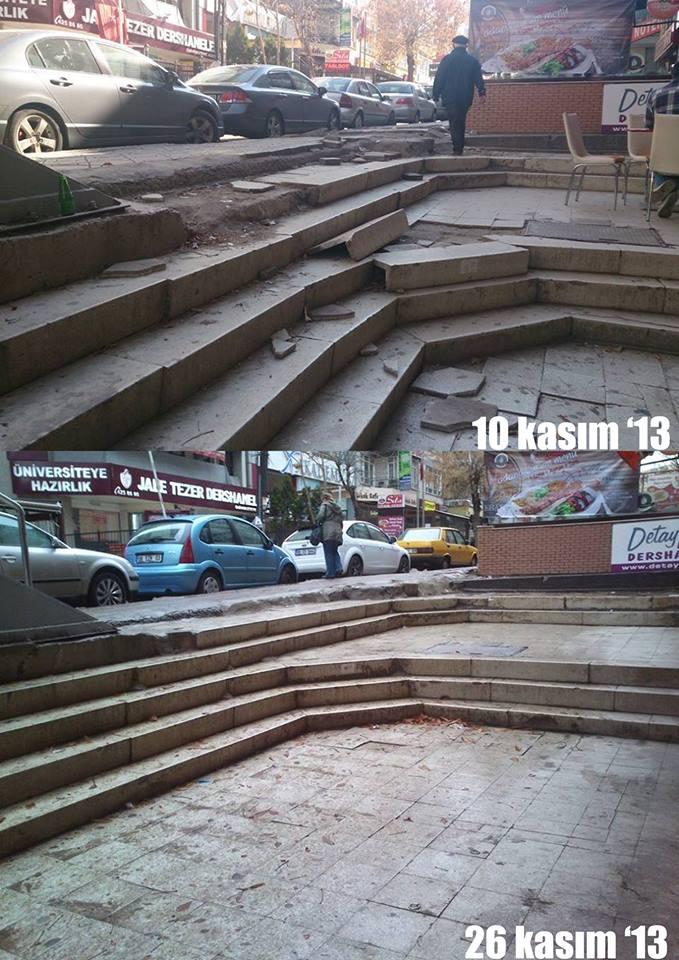 Hititler'den kalan Antik Tiyatro'ya cila çekmişler. Thx bro!