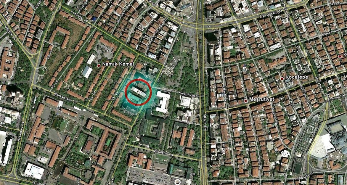 Resim-2: TPAO, Kızılay. (http://maps.google.com)