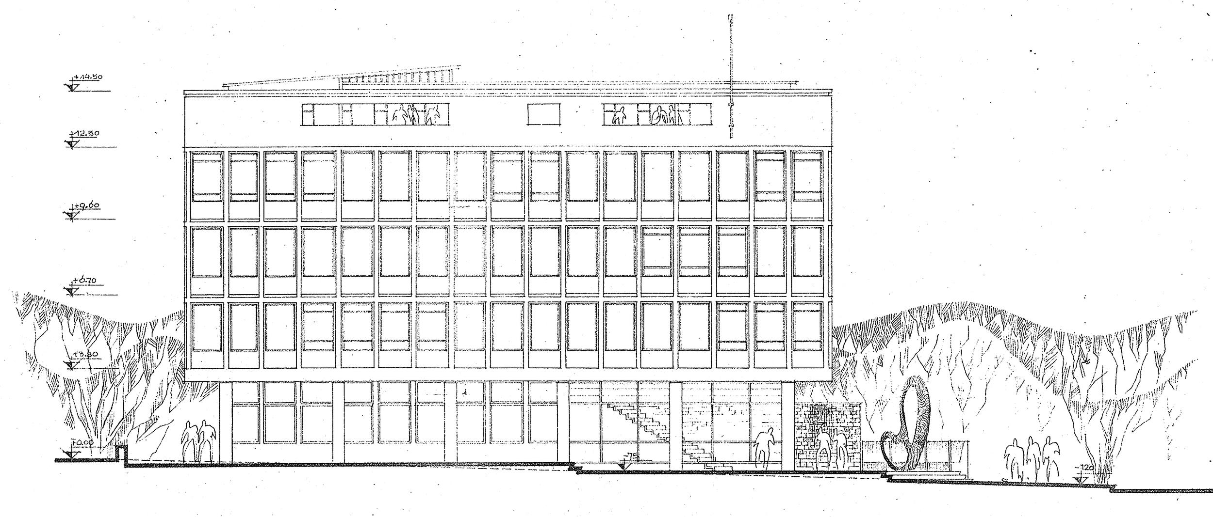 Şekil 3: EİE Fevzi Çakmak Caddesi Cephesi [Kaynak: Büyükşehir Belediyesi İmar Daire Başkanlığı, 2008]