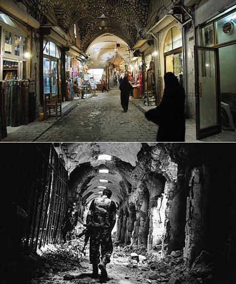 Halep, Kapalıçarşı, 2007 ve 2013…