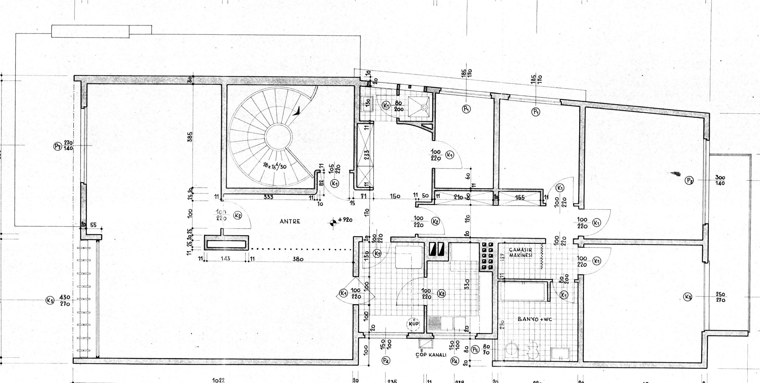 Resim 2: Yapının plan çizimi