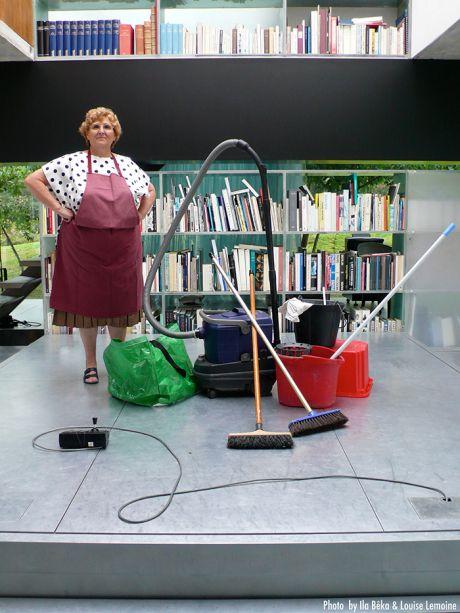Ila Bêka ve Louise Lemoine'un   Koolhaas Houselife   (2008) filminden bir kare