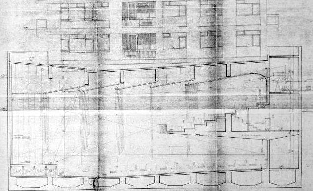 Resim 7:  Kavaklıdere Sineması'nın  balkonlu salonu