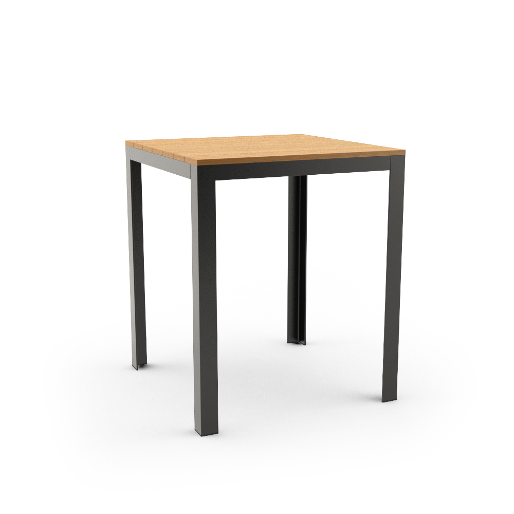 IKEA FALSTER TABLE, BLACK, BROWN
