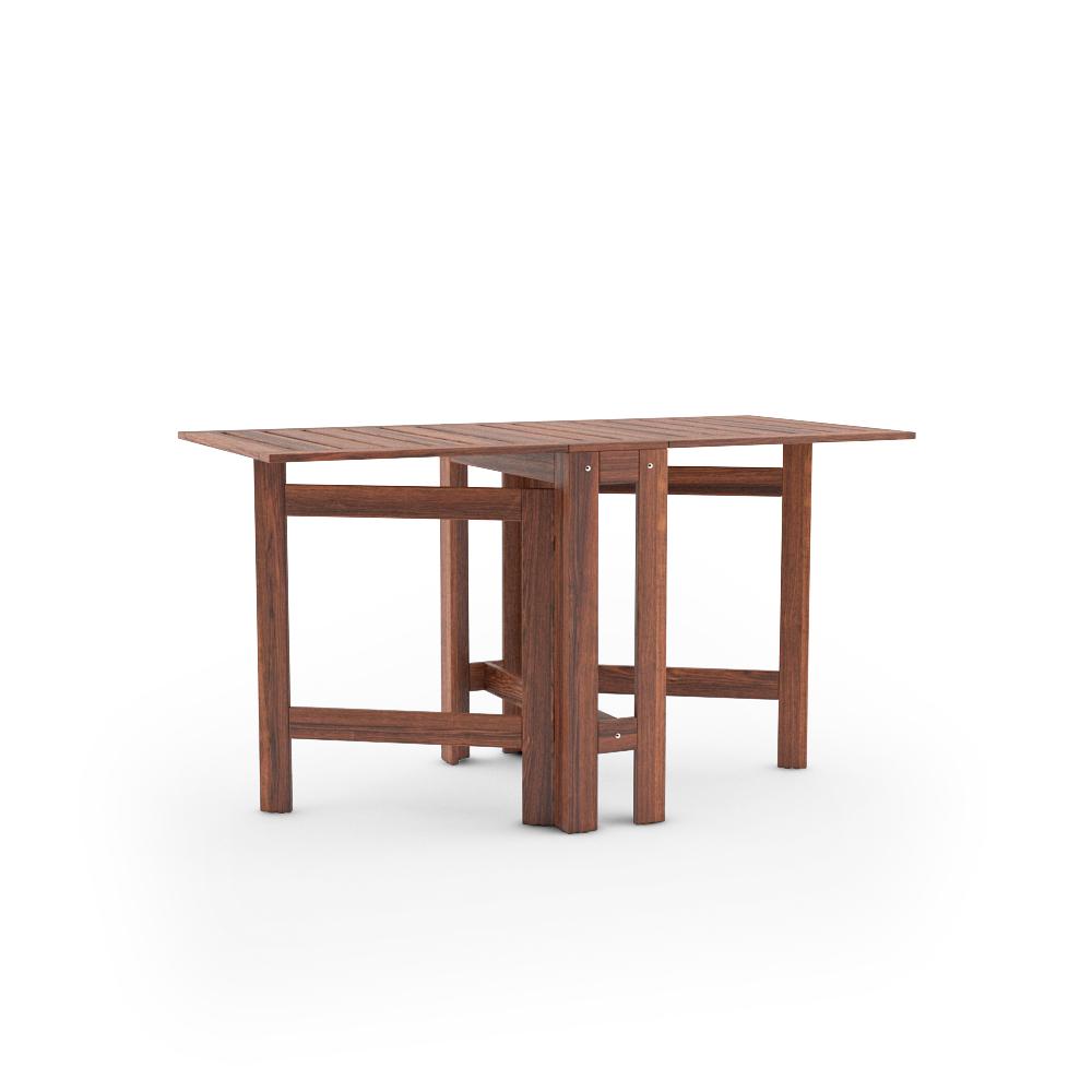 IKEA APPLARO GATELEG TABLE FULLY UNFOLDED