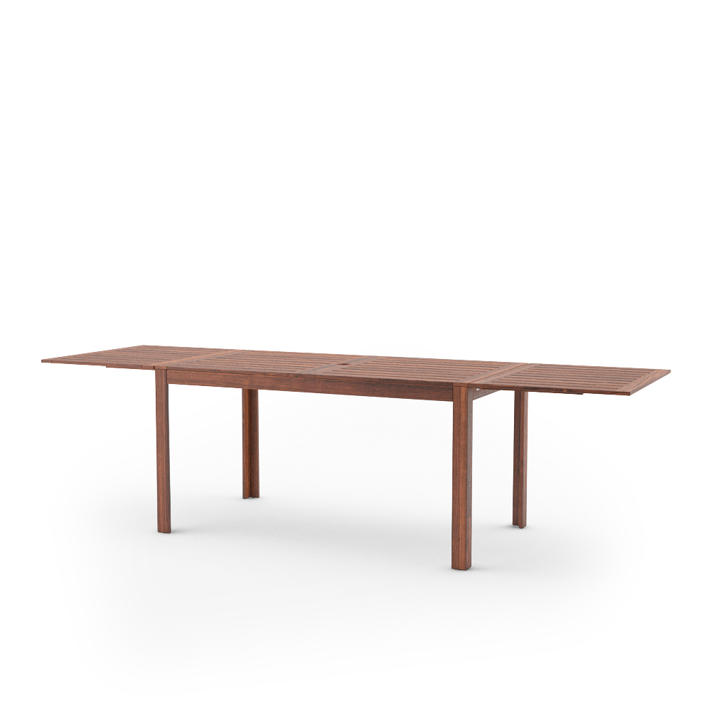 IKEA APPLARO DROP LEAF TABLE UNFOLDED