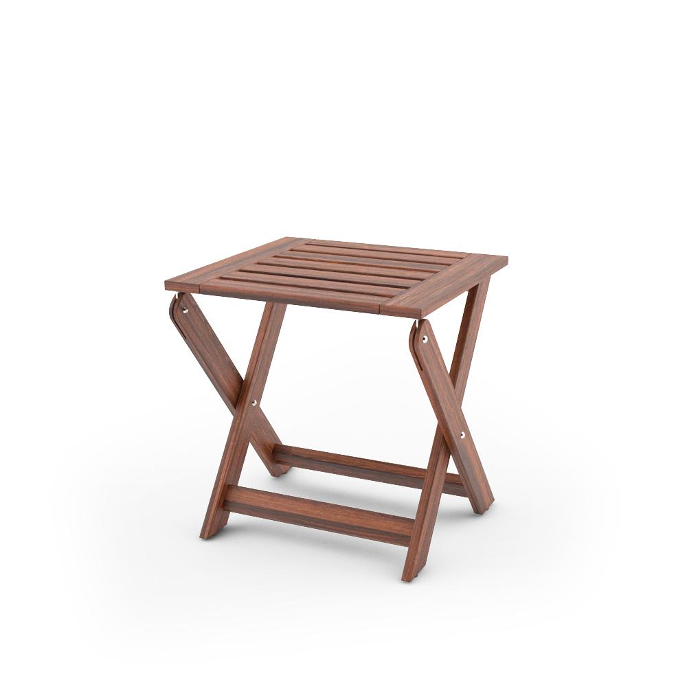 IKEA APPLARO STOOL FOLDABLE UNFOLDED