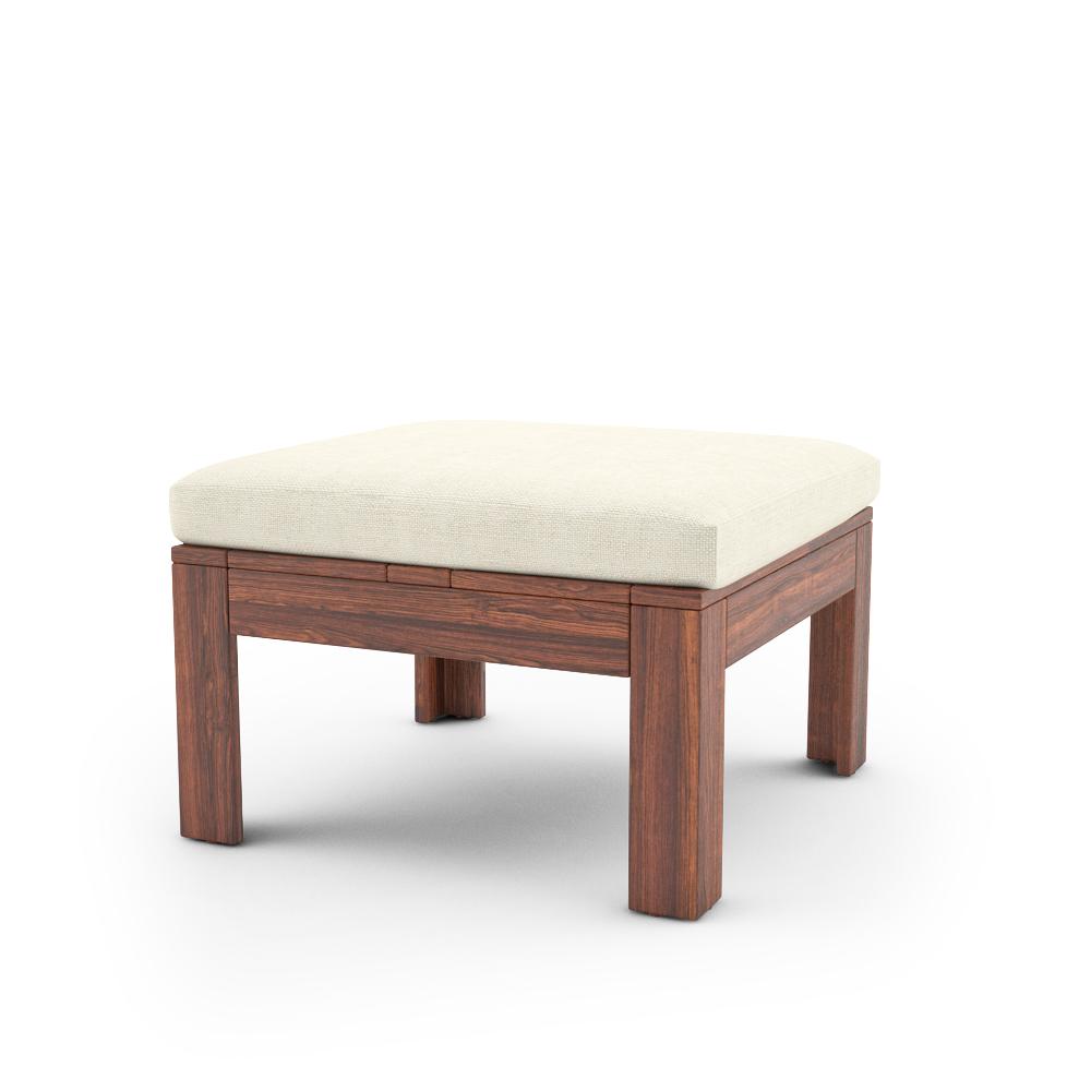 IKEA APPLARO TABLE STOOL WITH CUSHION