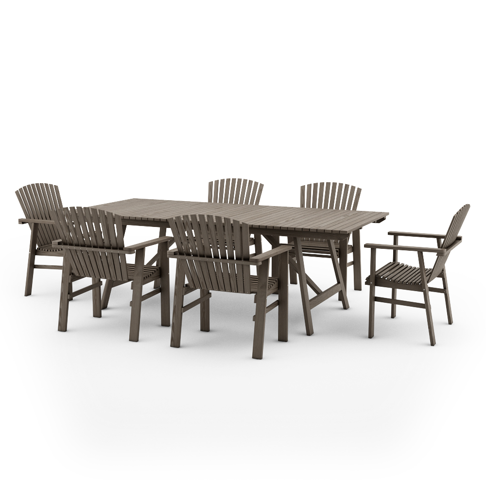Free Models Ikea Sundero Outdoor Furniture Series