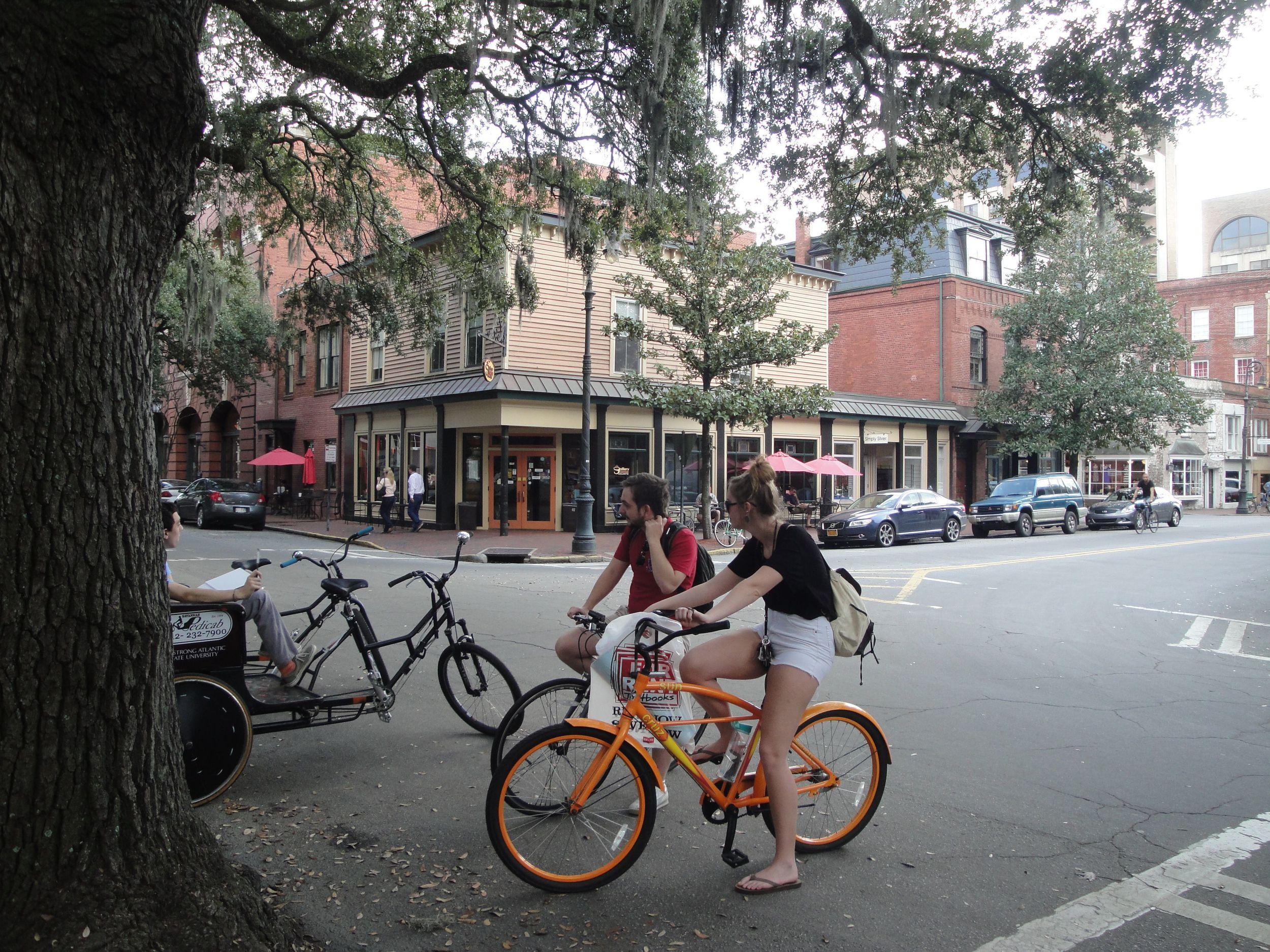 bikes at Gallery Espresso