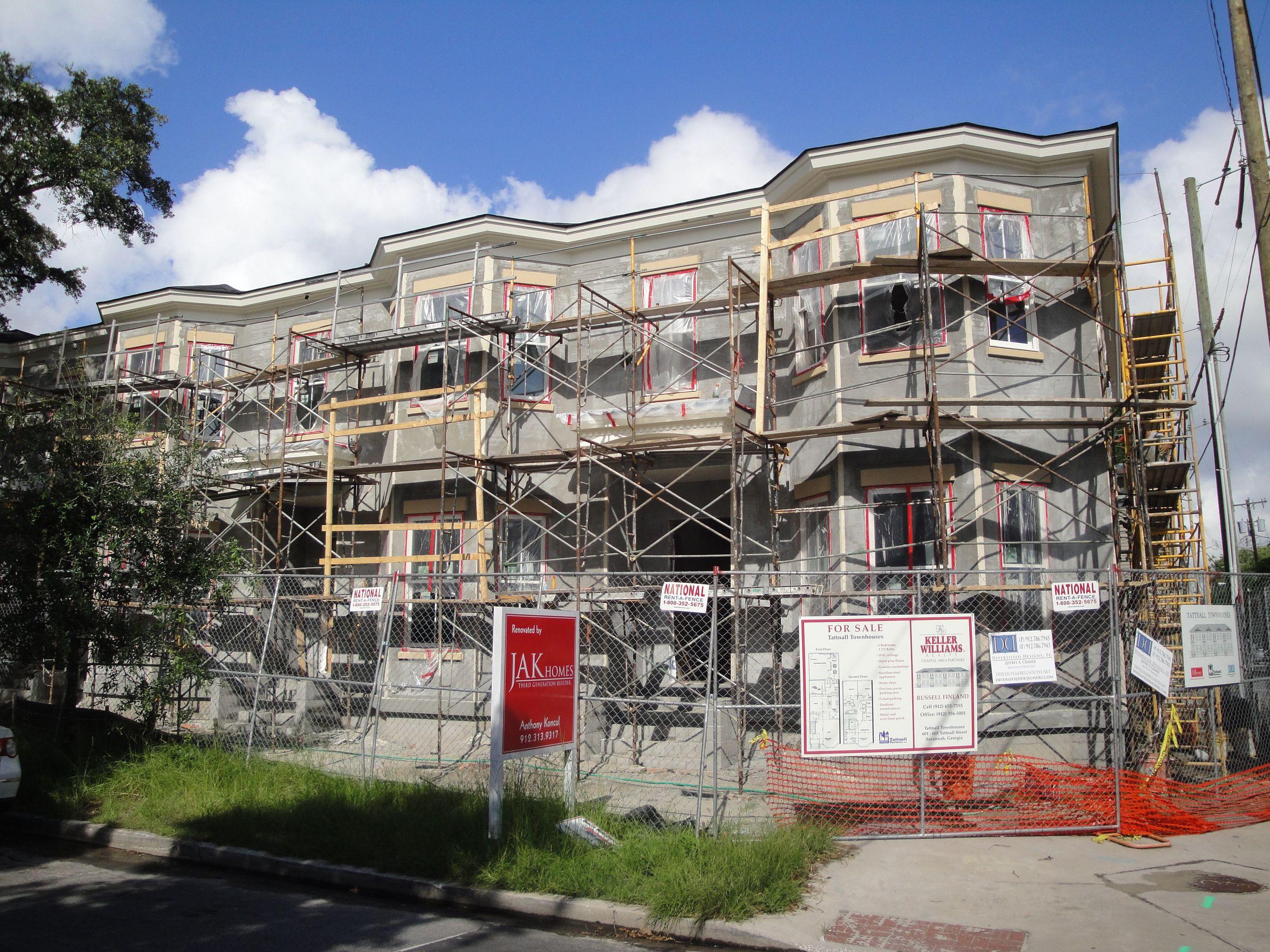SAV - townhouses on Tattnall