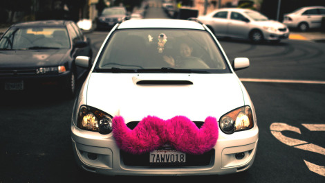 Image by Alfredo Mendez of a Lyft car