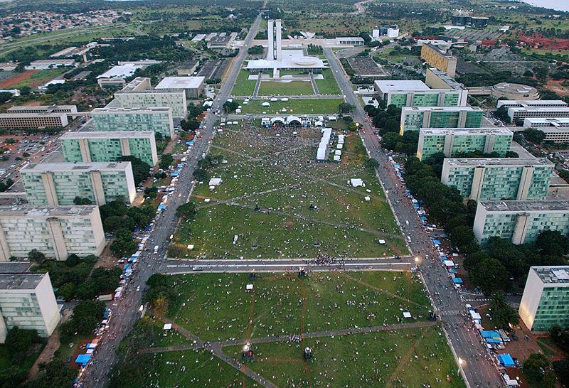 Brasilia image from Wikipedia Commons