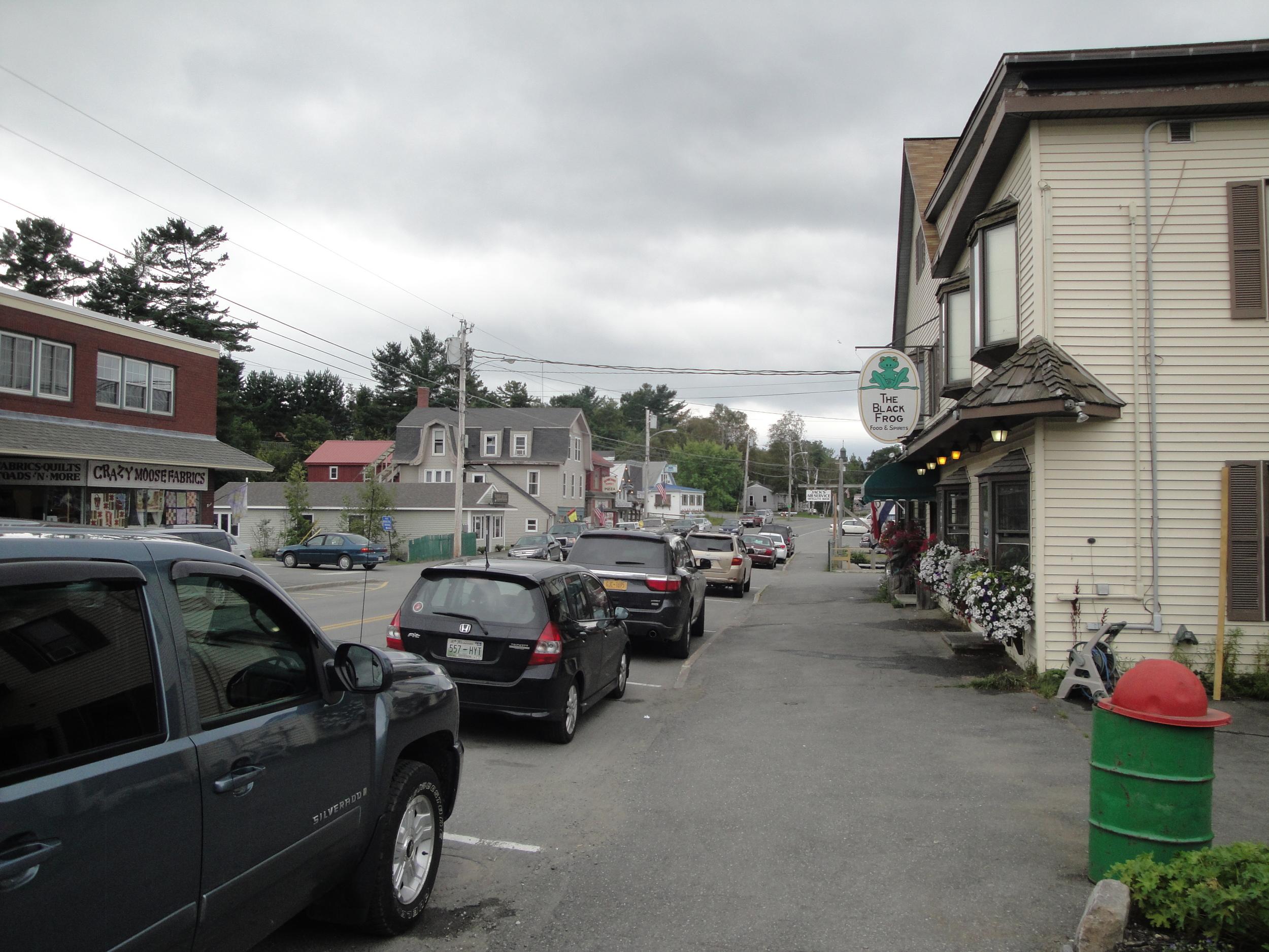 Small-town urban