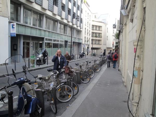 The Velib in Paris