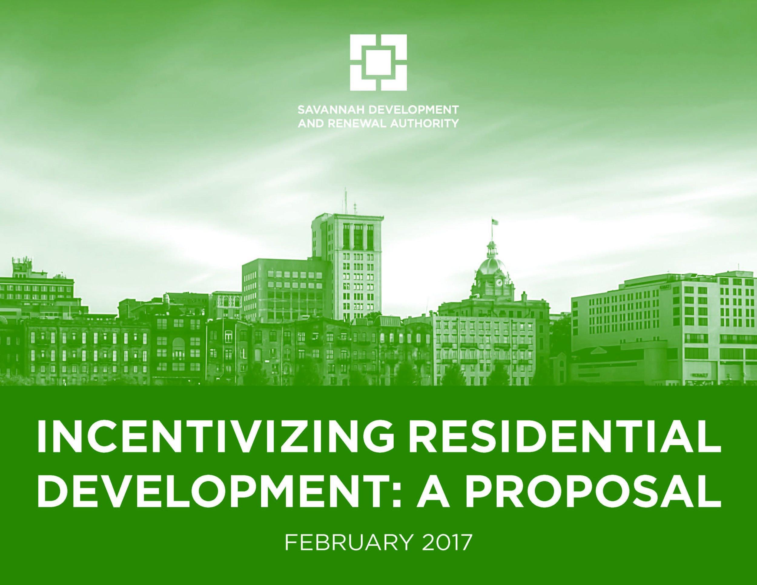 Downtown Savannah Housing Affordability Proposal