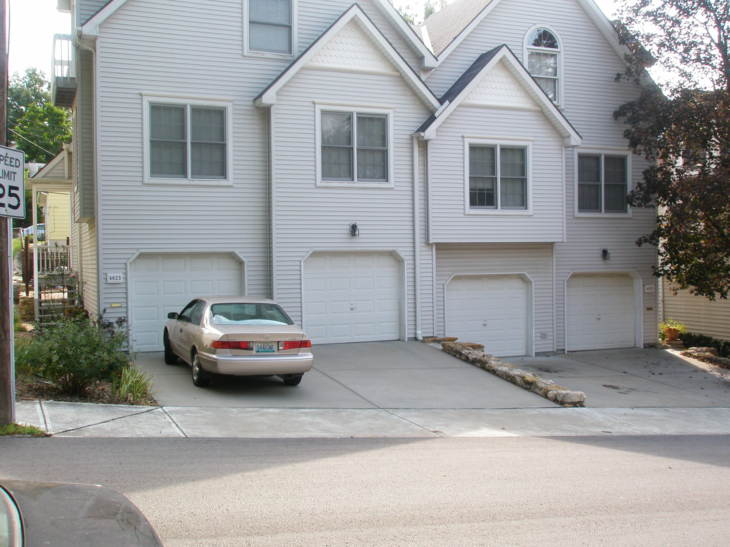Say no this type of garage/parking placement