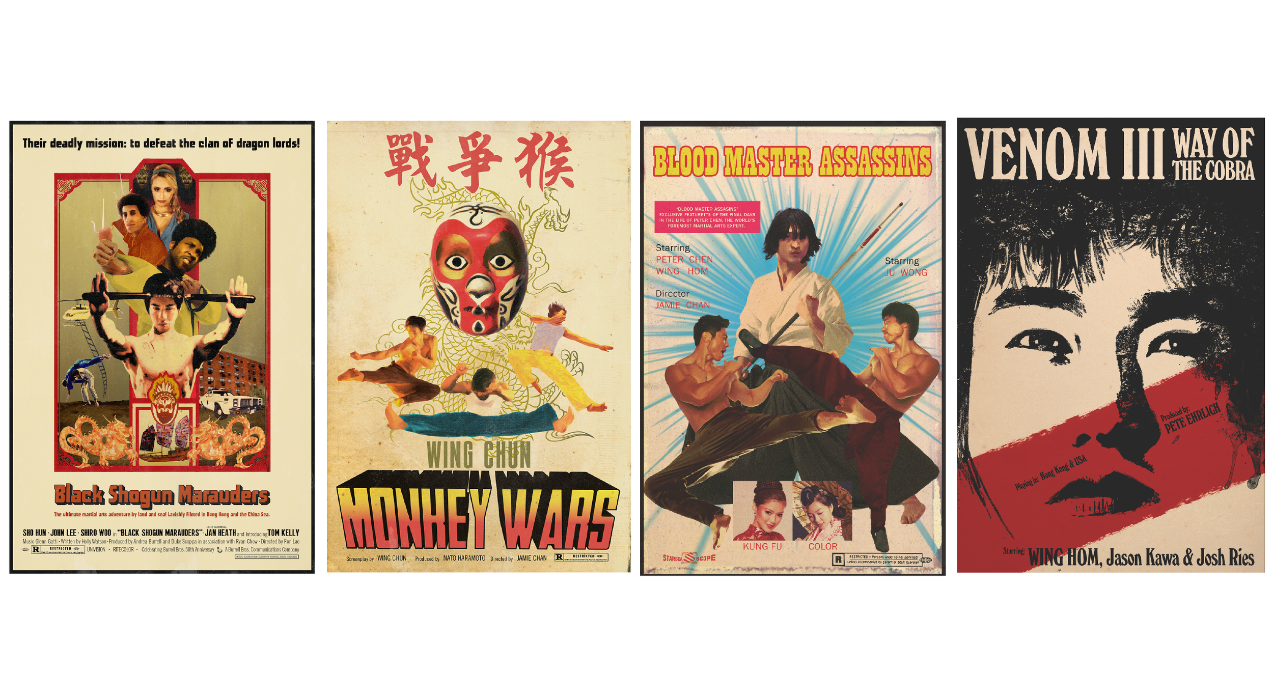 Kung Fu Posters