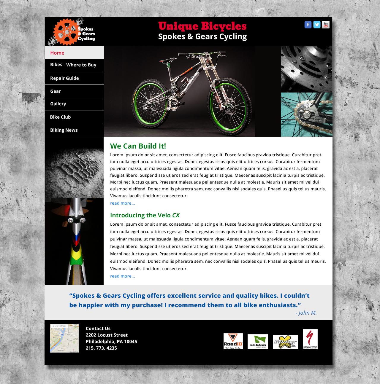 Website Prototype and Logo Design