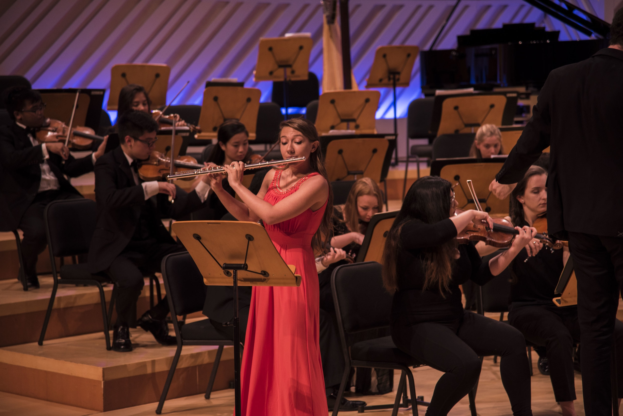 Jessica Chancey, winner of the 2016 MMF Concerto Competition