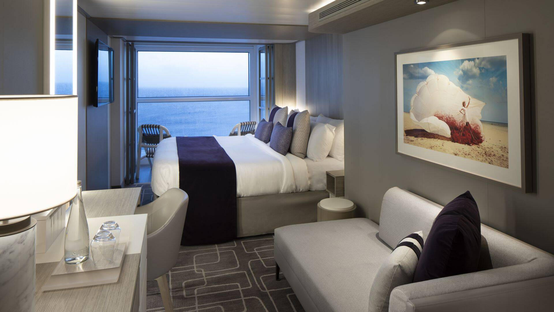 Copy of Balcony Concierge Stateroom