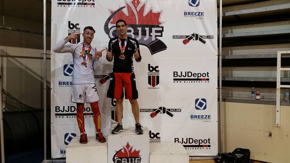 Kyoshi getting 1st in no gi