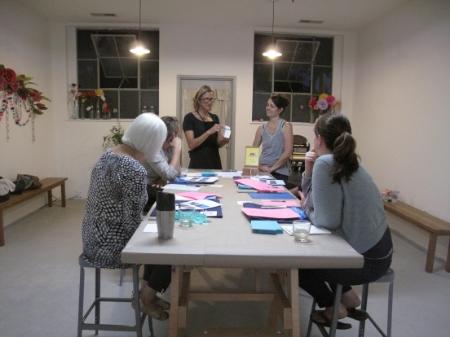 Well Hello Letterpress Handcraft Studio School Workshop