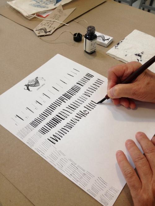 Handcraft Studio School Calligraphy Class